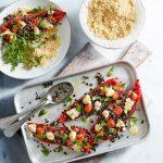Lentil-stuffed Peppers